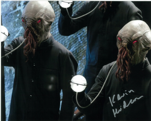 Kevin Hudson, Doctor Who,  10 x 8 genuine signed autograph 10379